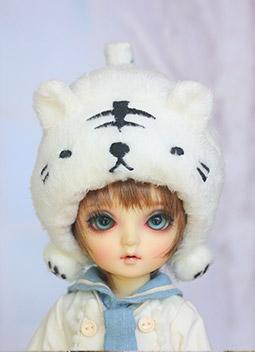 Face Mask Locker - White Tiger - 1/6 | BJD outfits, cloths